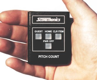 Remote Control for Pitch Count Display